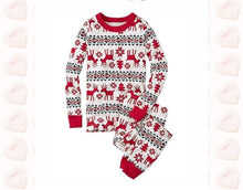 Load image into Gallery viewer, Family Christmas pajams printing set Xmas family suit -4
