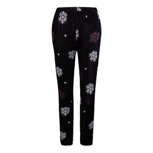 Autumn winter new dress Christmas dress print slim leggings