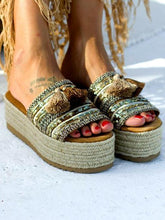 Load image into Gallery viewer, National Style Thick-skinned Wear Sandals and Slippers