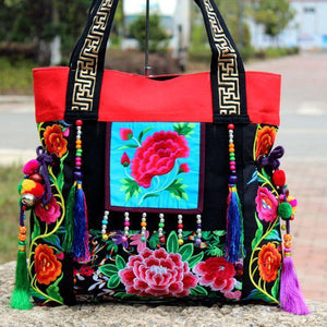 Ethnic Embroidery Shoulder Bag-2