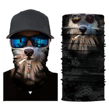 Load image into Gallery viewer, Animal Sunscreen Sandproof Headgear Face Towel Headscarf-2