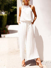 Load image into Gallery viewer, Summer Halter Sleeveless Long Pants Jumpsuit Romper