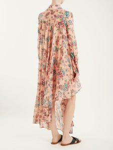 New Summer Print Bohemia Maxi Dress