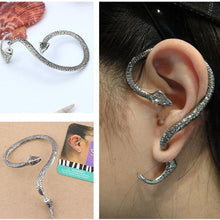 Load image into Gallery viewer, 1PC Retro Cool Punk Jewelry Fashion Snake Earrings Ear Cuff