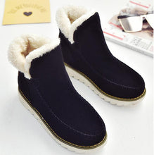 Load image into Gallery viewer, Casual Winter Solid Color Warm Snow Boots Shoes