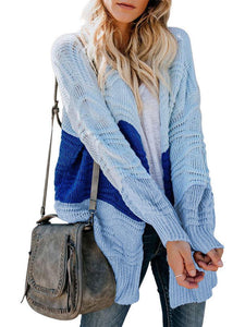 Autumn & Winter Women Knitting Sweater Cardigan Standard Clothes Office Lady Streetwear Long Jumpers
