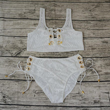 Load image into Gallery viewer, Lace bikini 6 color Swimsuit