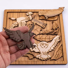 Load image into Gallery viewer, Bird Lovers Wood Puzzle Box