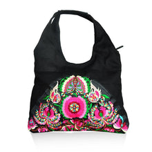 Load image into Gallery viewer, Ethnic Style Simple Embroidery Zipper Shoulder Bag