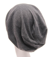 Load image into Gallery viewer, Hip-hop Soft Stretch Slouchy Solid Color Skull Cap