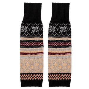Winter Bohemian Boot Cuffs Knit Crochet Leg Warmers Socks