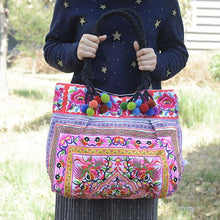 Load image into Gallery viewer, Yunnan Embroidered Bag Fashion Ethnic Bag  Lady Handbag Embroidery Bag