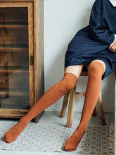 Load image into Gallery viewer, Cotton Soft Light Overknee stockings