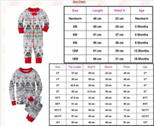 Load image into Gallery viewer, Family Christmas pajams printing set Xmas family suit -2