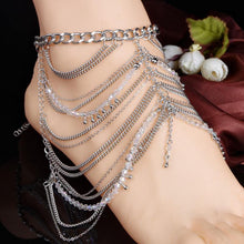 Load image into Gallery viewer, Fashion Bohemia Tassels Footchain Accessories Anklet