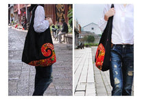 Load image into Gallery viewer, Vintage ethnic style denim bag