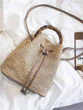 Load image into Gallery viewer, Khaki Fashion Knit Single Shoulder Bag