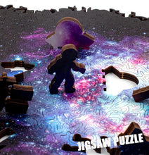 Load image into Gallery viewer, Infinite Galaxy Wooden Jigsaw Puzzle
