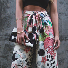 Load image into Gallery viewer, Loose Casual Floral Leaf Printed Wide Leg Pants