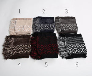 Leg warmers knit imitation wool boots wool leggings short paragraph introverted solid color feather yarn socks - 2