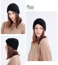 Load image into Gallery viewer, Winter Knit 3 Colors Hat Accessories