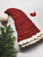 Load image into Gallery viewer, Knit Cute Christmas Hat