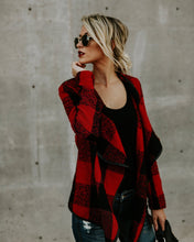 Load image into Gallery viewer, Fashion Plaid Long Sleeve Autumn Tops