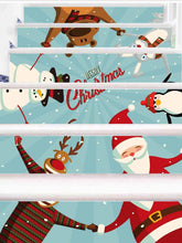 Load image into Gallery viewer, Christmas new home decoration 3D self-adhesive removable wall stickers