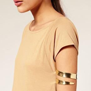 Simple Alloy Punk Exaggerated Arm Ring Bracelet