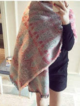 Load image into Gallery viewer, Autumn And Winter Warm Artificial Cashmere Thick Scarf Shawl