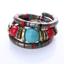 Load image into Gallery viewer, Multilayer Bohemian Flexible Bracelet
