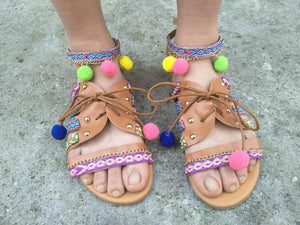 Bohemia Beach Summer Sandals For Women