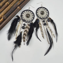 Load image into Gallery viewer, 5 Colors Bohemia Feather Dream Catcher Tassels Earrings Accessories