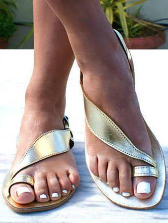 Summer Flat Heel Beach Sandals