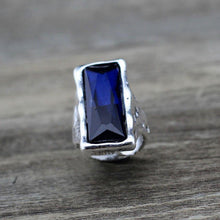 Load image into Gallery viewer, Original Design Retro Large Big Square Crystal Ring
