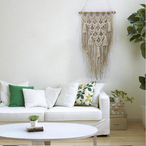 Boho Original Handmade Cotton Thread Living Room Hanging Wall Decoration