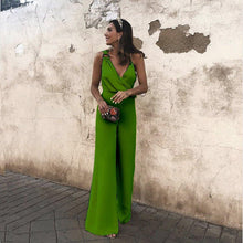 Load image into Gallery viewer, Asymmetrical Fashion Light Popular Color Jumpsuit