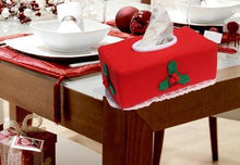 Load image into Gallery viewer, Christmas Decorations Tissue Box Coverf