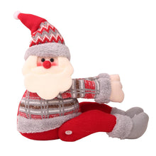 Load image into Gallery viewer, Santa Claus Elk Snowman Doll Curtain Buckle Christmas Decoration