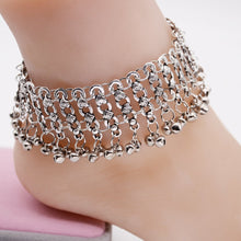 Load image into Gallery viewer, Exaggerated wild style small bells tassels women s foot accessories