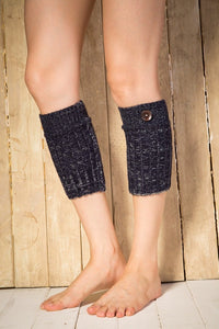 Boot cuff thick short-sleeved thick thick bamboo knit wool yarn socks - 11