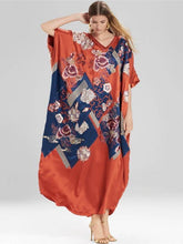 Load image into Gallery viewer, New Imitation Silk Irregular Printing Beach Cover up