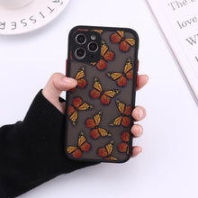 Load image into Gallery viewer, Cute 3D Relif Butterfly phone case for iphone 11 Pro Max XR XS MAX case silicone for iphone 7 8 Plus 12 pro max cover