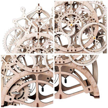 Load image into Gallery viewer, Wooden 3D assembled creative DIY puzzle - Mechanical Gear Drive Pendulum Clock