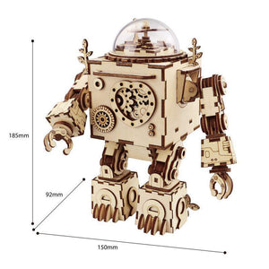 Wooden 3D assembled creative DIY puzzle - AM601 Orpheus
