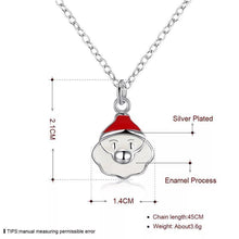 Load image into Gallery viewer, Christmas Jewelry Set Santa Claus Cute Earrings Necklace Kit
