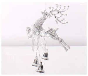 New Xmas Deer Pendant Ornaments Festival Party Christmas Tree Hanging Decoration