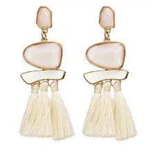 Load image into Gallery viewer, Trend Boho Vintage Statement Jewelry Ethnic Fringe Earrings Pendientes Mujer Moda Long Tassel Earring for Xmas party