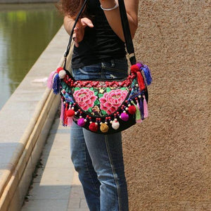 Fashion National Style Embroidery Ladies Shoulder Bags