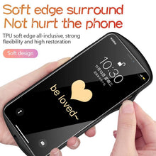 Load image into Gallery viewer, Luxury Cute Oval Heart-shaped Tempered Glass Phone Case For iPhone 12 11 Pro Max XSmax XR X SE 8 7 6 Plus Mirror Silicone Cover